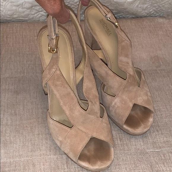 Michael Kors Suede Sandals